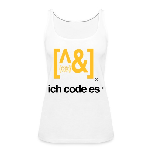 ich code es - Thermobecher - Frauen Premium Tank Top