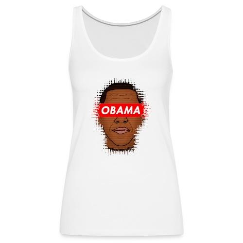 obama distorted - Camiseta de tirantes premium mujer