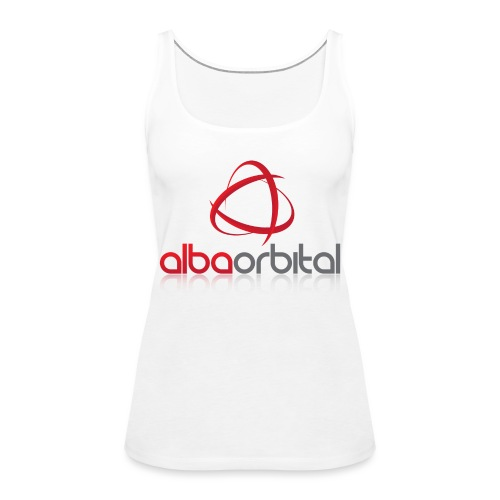 Alba Orbital's Offical Logo - Women's Premium Tank Top