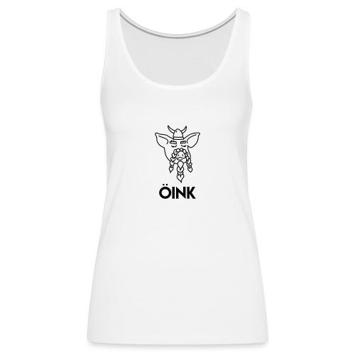 Oink Viking Pig - Women's Premium Tank Top