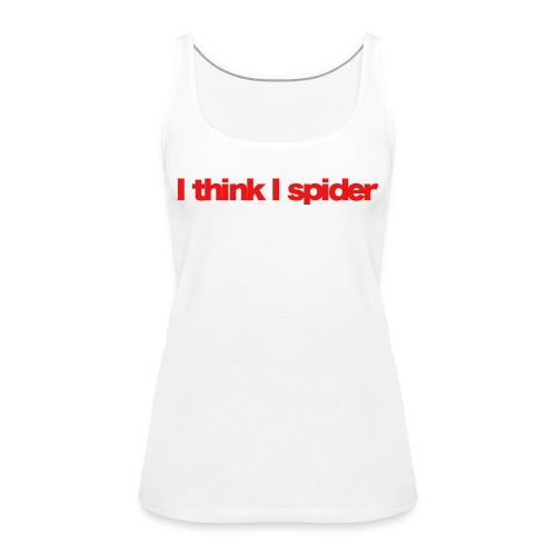 i think i spider red 2020 - Frauen Premium Tank Top