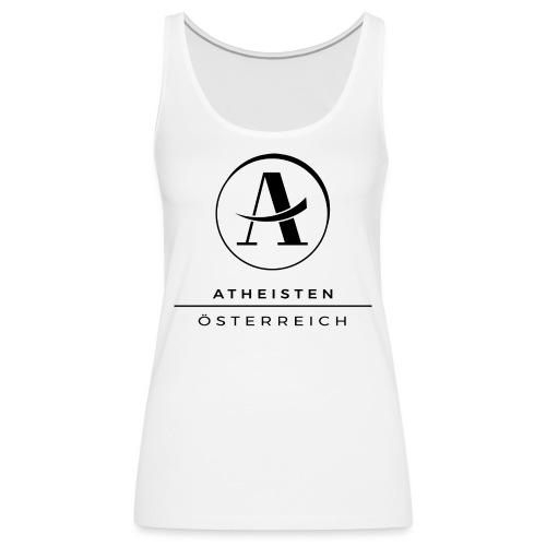 Atheisten Logo Schwarz - Frauen Premium Tank Top