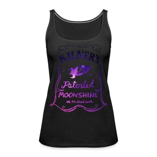 Kilner's Patented Moonshine (Stars Outline) - Women's Premium Tank Top