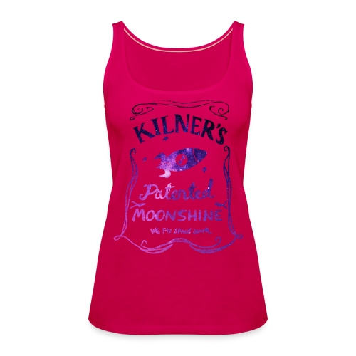 Kilner's Patented Moonshine (Stars Outline) - Women's Premium Tank Top