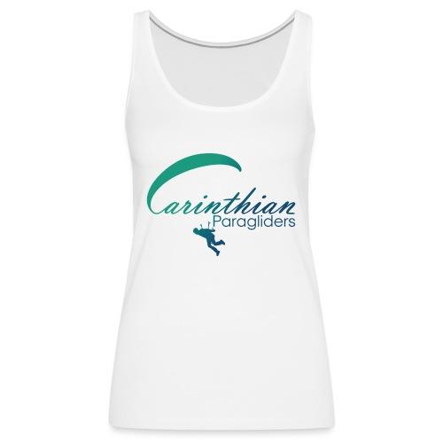 Carinthian Paragliders Logo 2019 - Frauen Premium Tank Top