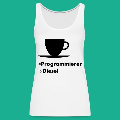 Kaffediesel - Frauen Premium Tank Top