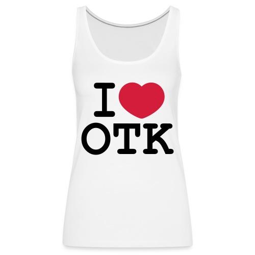 I Love Ottakring - Frauen Premium Tank Top