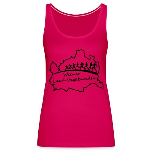 Laufvagabunden T Shirt - Frauen Premium Tank Top