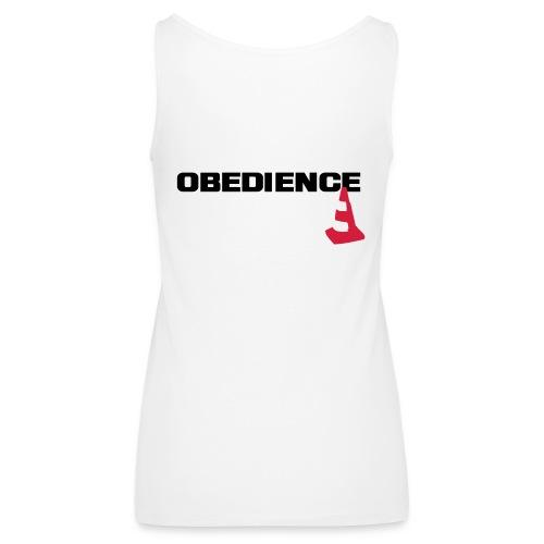 Obedience mit Pylone - Frauen Premium Tank Top