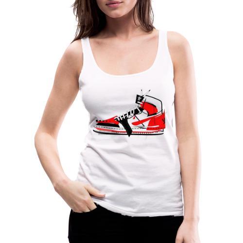 Destrukt my Shoes by MiZAl Touch Concept - Tank top damski Premium