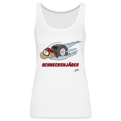 Schneckenjäger - Frauen Premium Tank Top