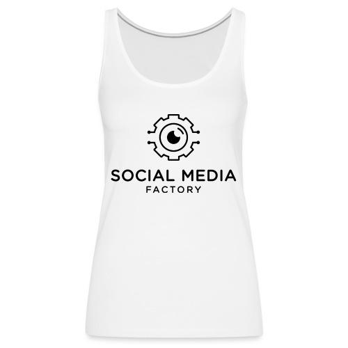 Social Media Factory Logo - Frauen Premium Tank Top
