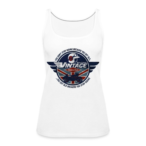 Kabes Vintage Riders Club - Women's Premium Tank Top