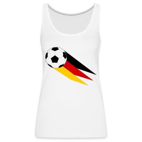 Fussball Deutschland - Frauen Premium Tank Top