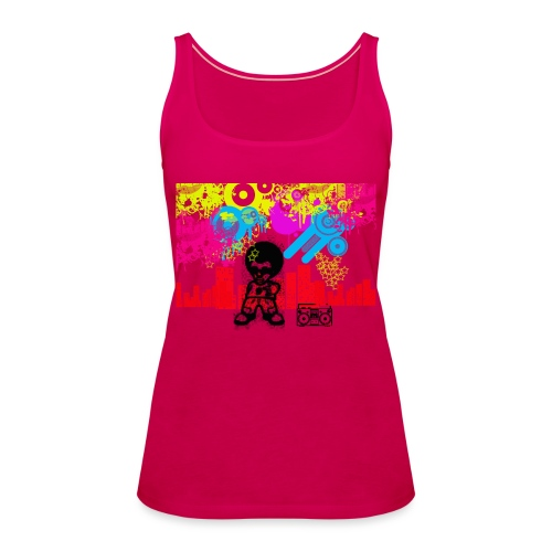 T-Shirt Happiness Uomo 2016 Dancefloor - Canotta premium da donna