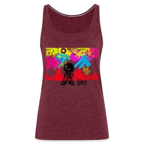 Magliette personalizzate bambini Dancefloor - Canotta premium da donna