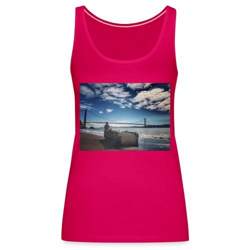 poncio - Camiseta de tirantes premium mujer