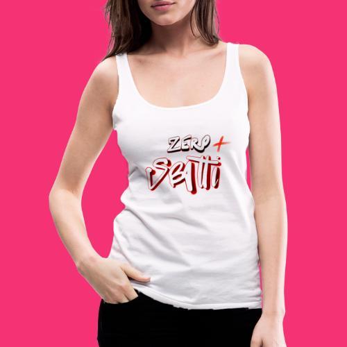 112014934 176272721 zero sbatti - Canotta premium da donna