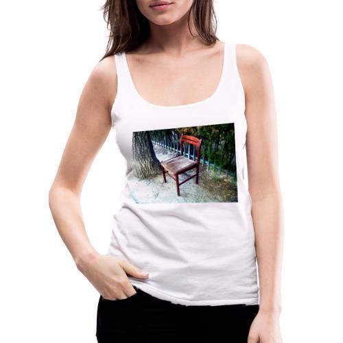 silla - Camiseta de tirantes premium mujer