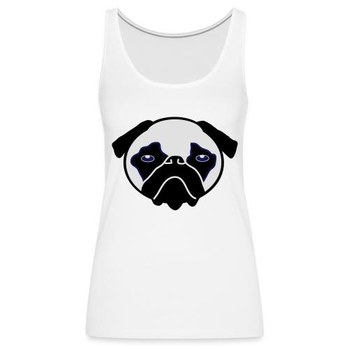 Mops, Hund - Frauen Premium Tank Top