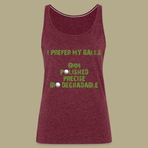 BALLS - Vrouwen Premium tank top