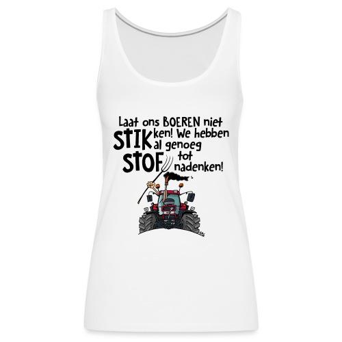 0505 stikstof - Vrouwen Premium tank top