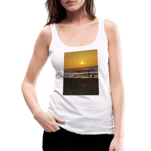 Strive for power - beach - Vrouwen Premium tank top