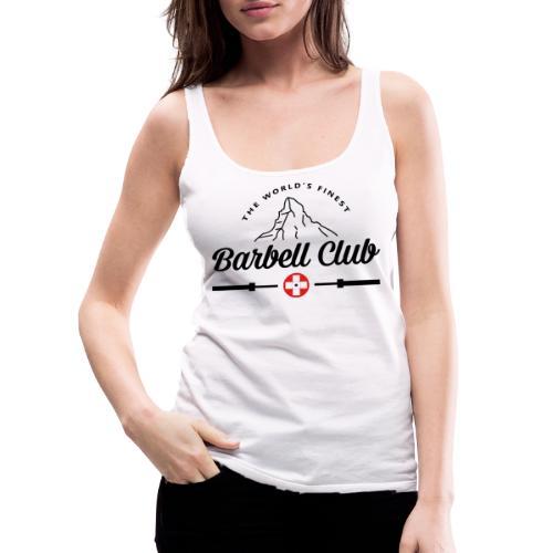 The world's finest Barbell Club _black - Frauen Premium Tank Top