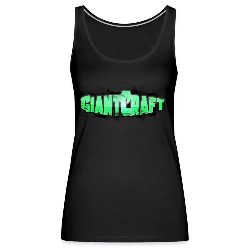 Vandflaske - GiantCraft - Dame Premium tanktop