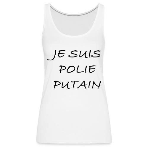 POLIE - Débardeur Premium Femme