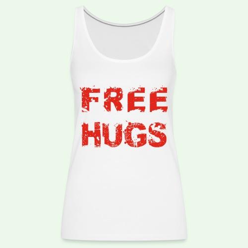 Free Hugs // Flirten // T-Shirt - Frauen Premium Tank Top
