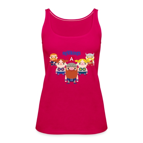 Viking Friends - Women's Premium Tank Top
