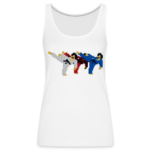 8 bit trip ninjas 2 - Women's Premium Tank Top
