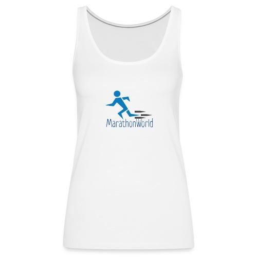 MarathonWorld - Canotta premium da donna