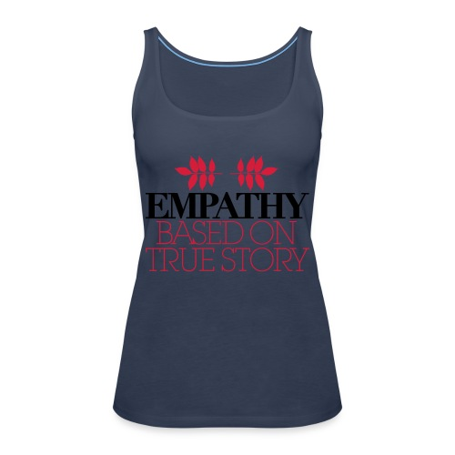 empathy story - Tank top damski Premium