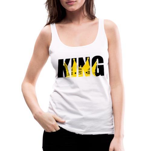 KING JAUNE - Débardeur Premium Femme