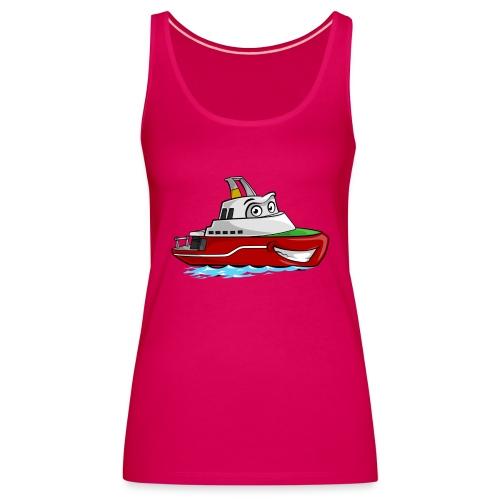 Boaty McBoatface - Women's Premium Tank Top