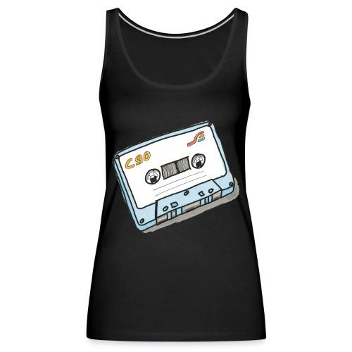 Cassette - Frauen Premium Tank Top
