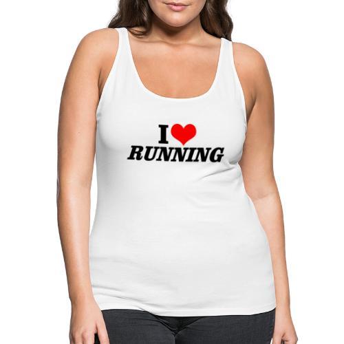 I love running - Frauen Premium Tank Top