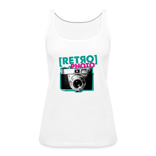 Retro Photo - Frauen Premium Tank Top