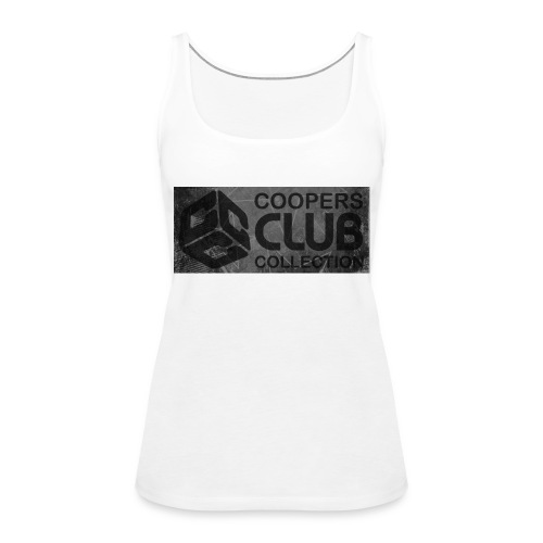 Coopers Club Collection distressed logo - Women's Premium Tank Top