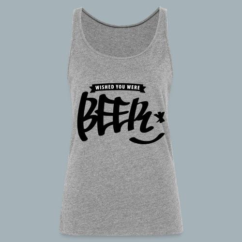 Beer Premium T-shirt - Vrouwen Premium tank top