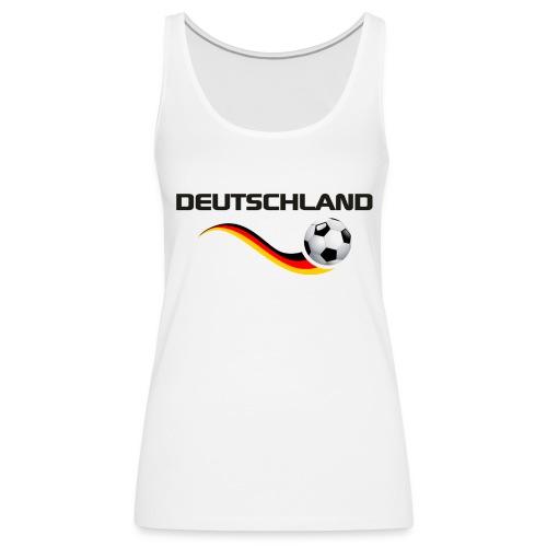 WM DEUTSCHLAND 1 - Frauen Premium Tank Top