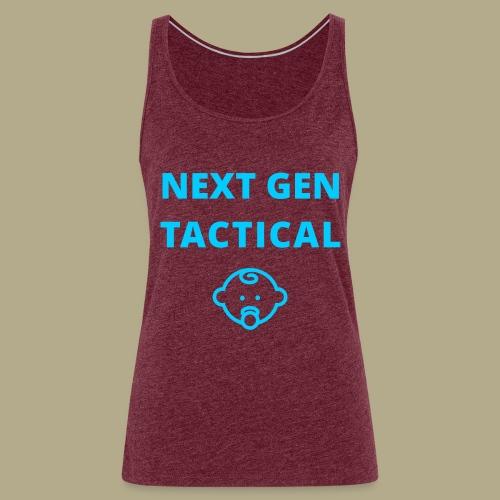 Tactical Baby Boy - Vrouwen Premium tank top