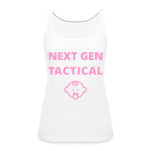 Tactical Baby Girl - Vrouwen Premium tank top