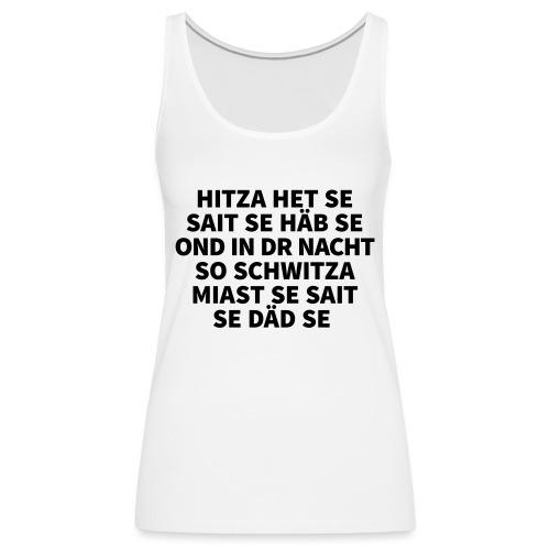 Hitza - Frauen Premium Tank Top