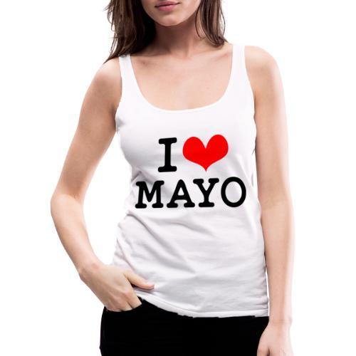 I Love Mayo - Women's Premium Tank Top