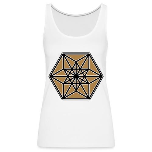 Kuboktaeder, Buckminster Fuller, Heilige Geometrie - Frauen Premium Tank Top