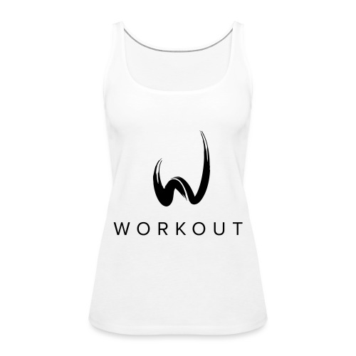 Workout mit Url - Frauen Premium Tank Top