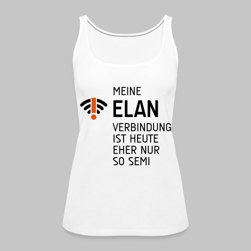 ELAN Verbindung - Frauen Premium Tank Top